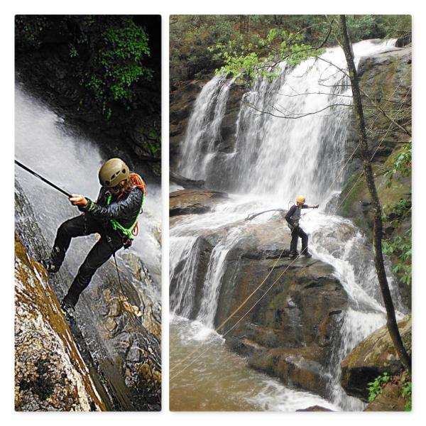 waterfall rappelling 2020