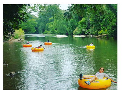 River tubing in NC